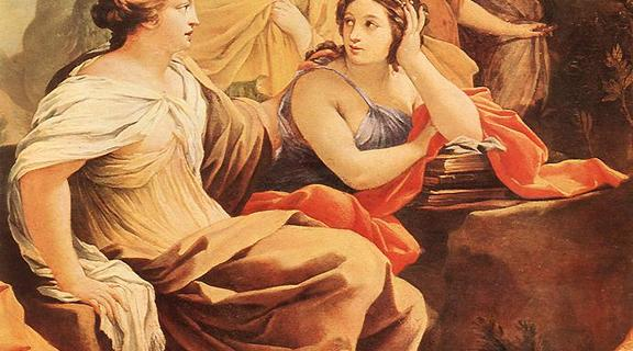 Homepage simon vouet   parnassus or apollo and the muses  detail    wga25374