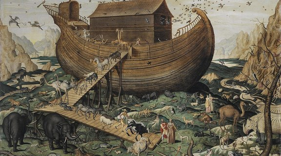 Homepage 1146px noah s ark on mount ararat by simon de myle  1