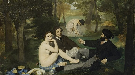 Homepage 1158px edouard manet   luncheon on the grass   google art project